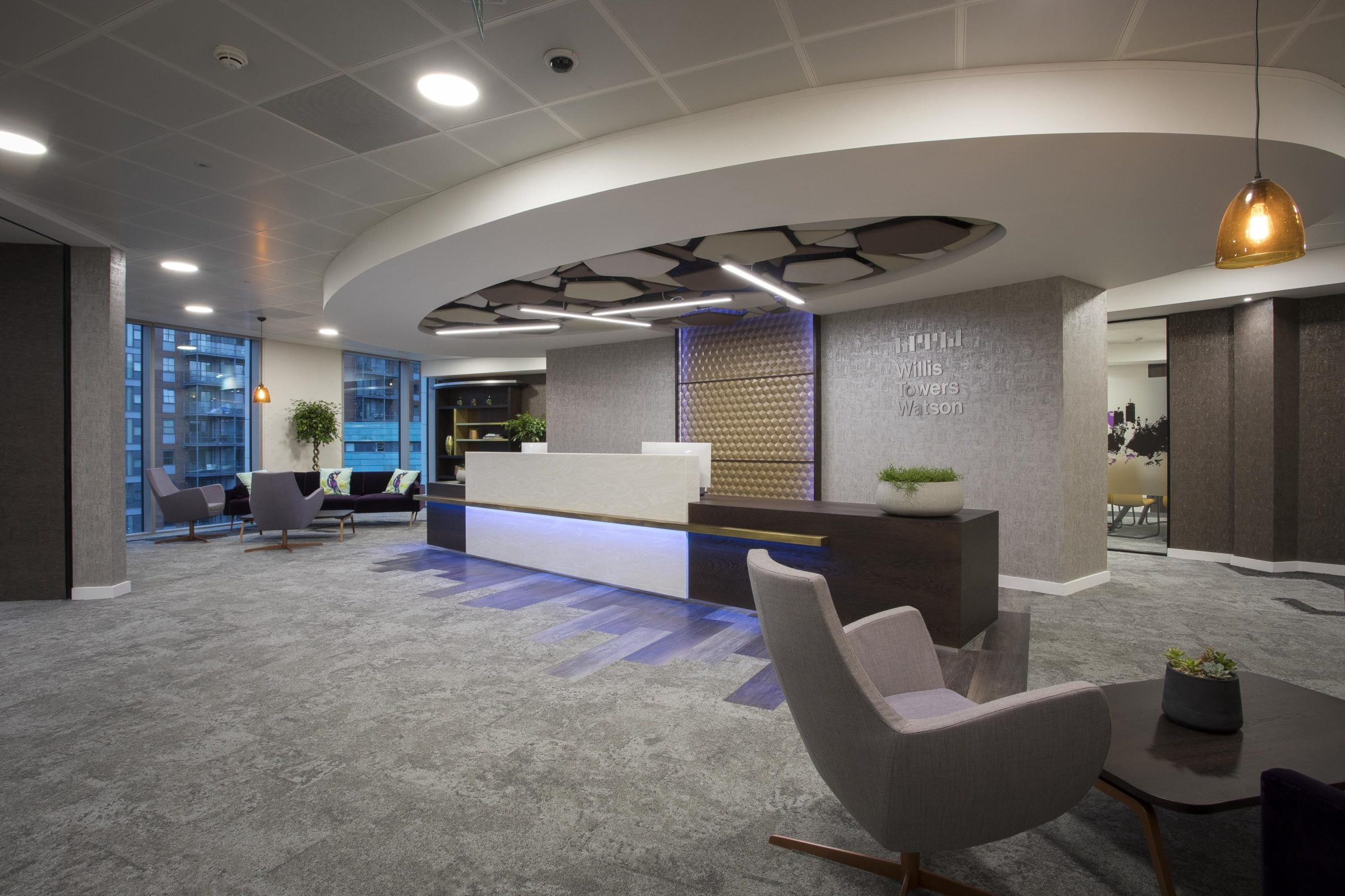 willis towers watson completes move to 5 wellington place