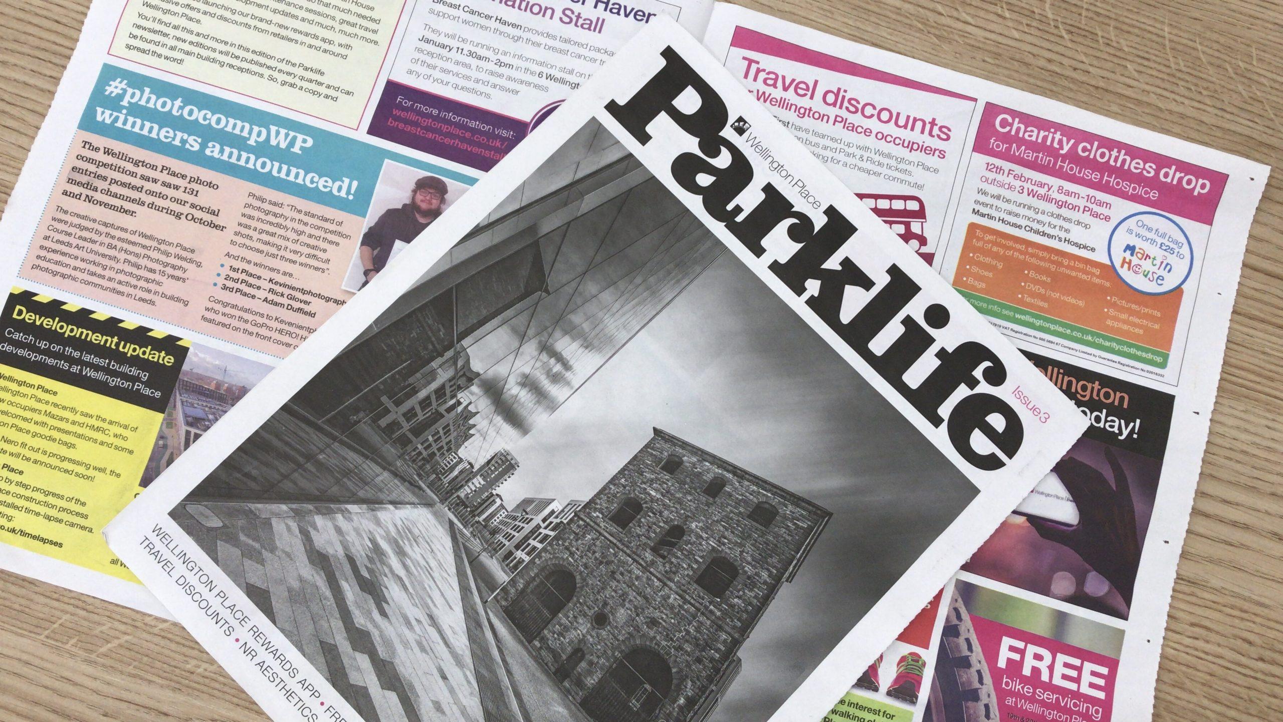 Parklife Newspaper