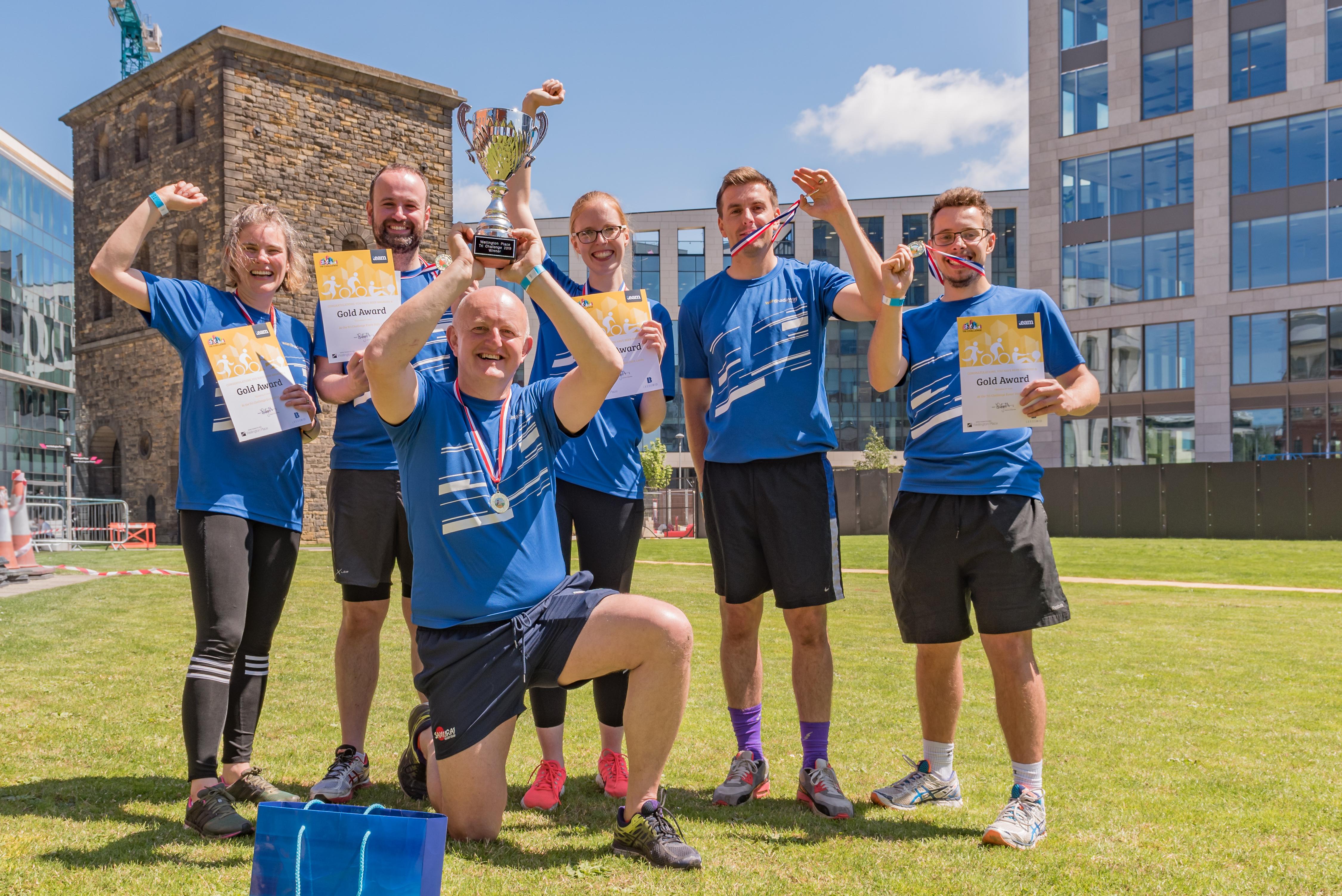 Ward Hadaway win the Tri Challenge 2019
